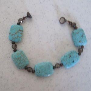 Unknown Jewelry - Two polished stone bracelets